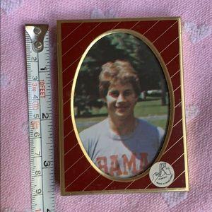 """3.5"""" magnet 🧲 picture frame 🖼 vintage Hong Kong"""